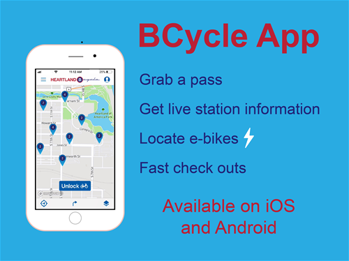 Heartland B-cycle - BCycle App